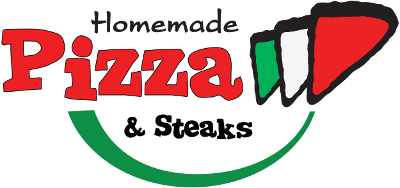 Logotype: HomeMade Pizza & Steaks